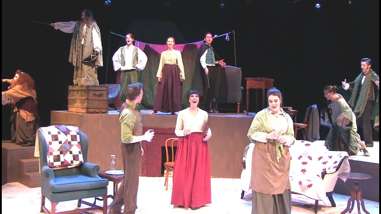 """The Weekly Volcano Press"" from the Elon University 2017 production of..."