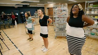 Inside rehearsals for the national tour of Waitress