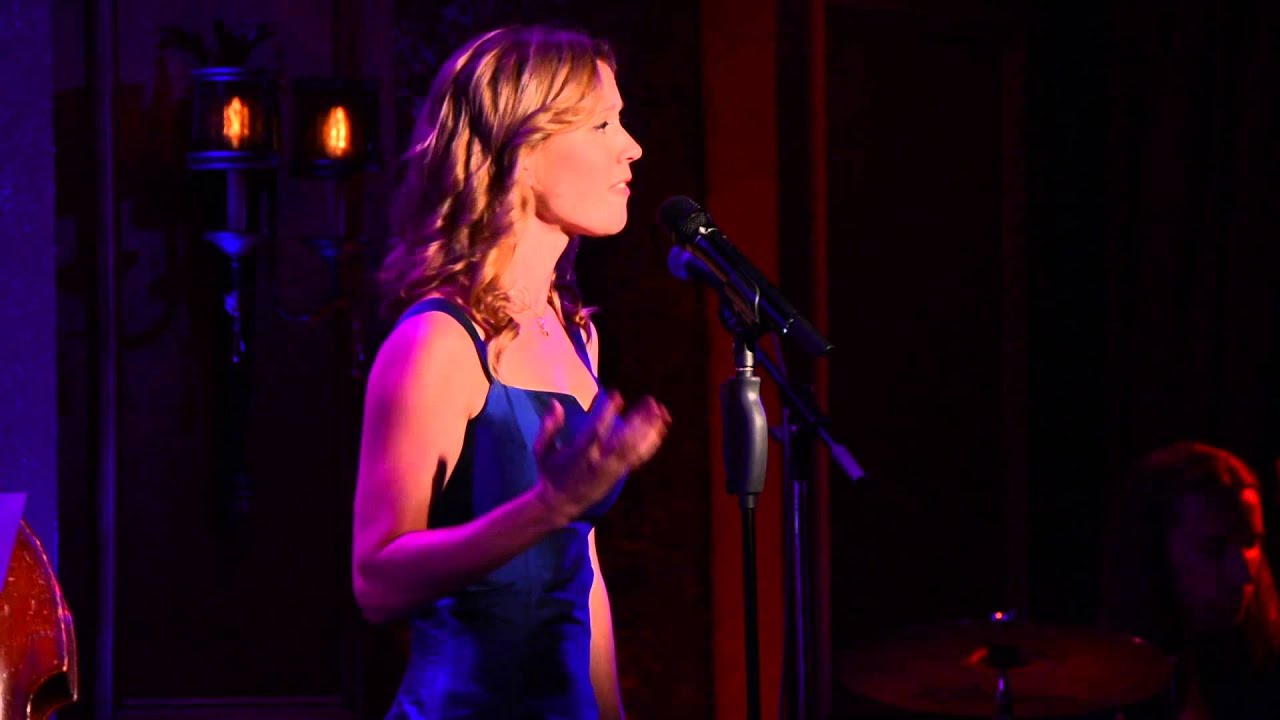 "Patti Murin performs ""Lost in the Brass"" from Band Geeks at 54 Below"