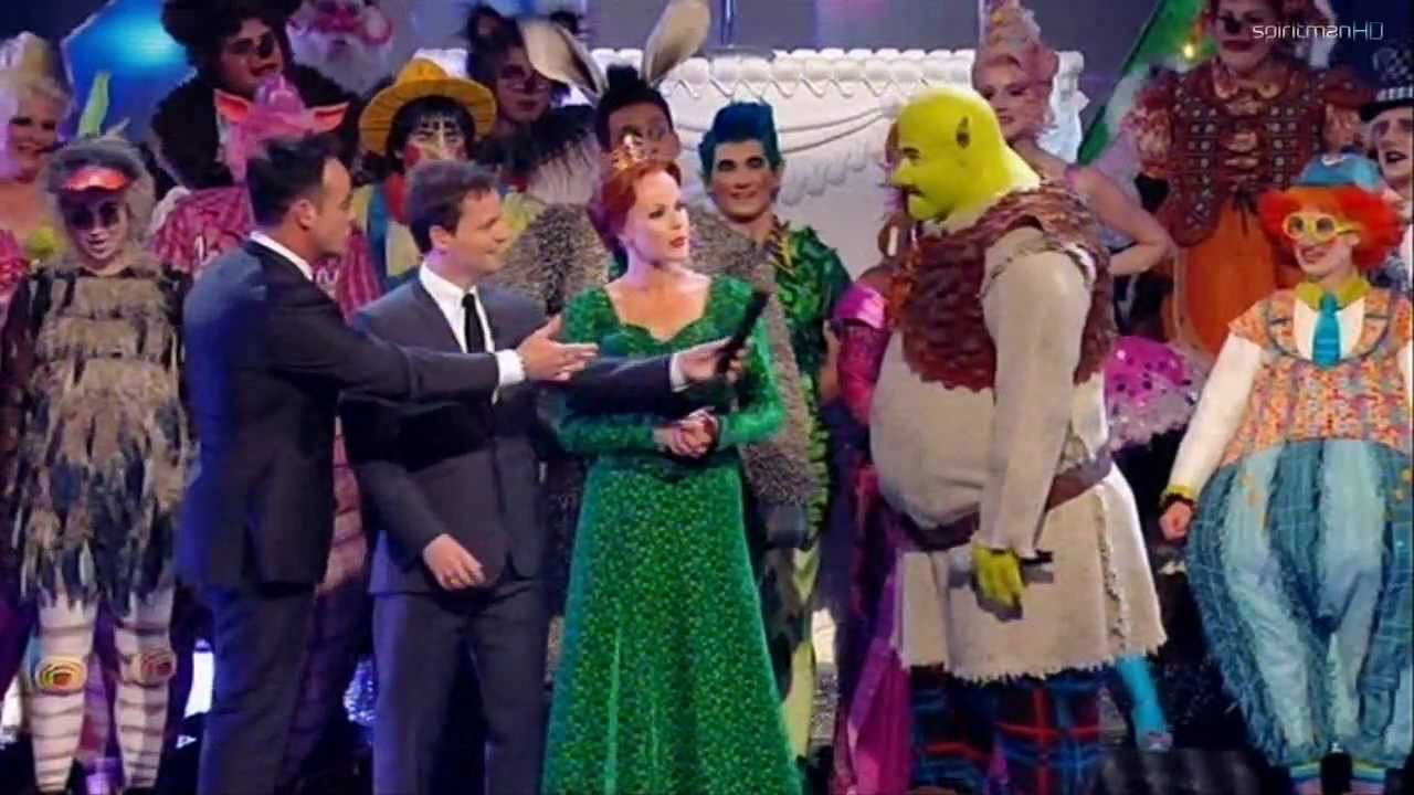 Shrek The Musical performs on Britain's Got Talent