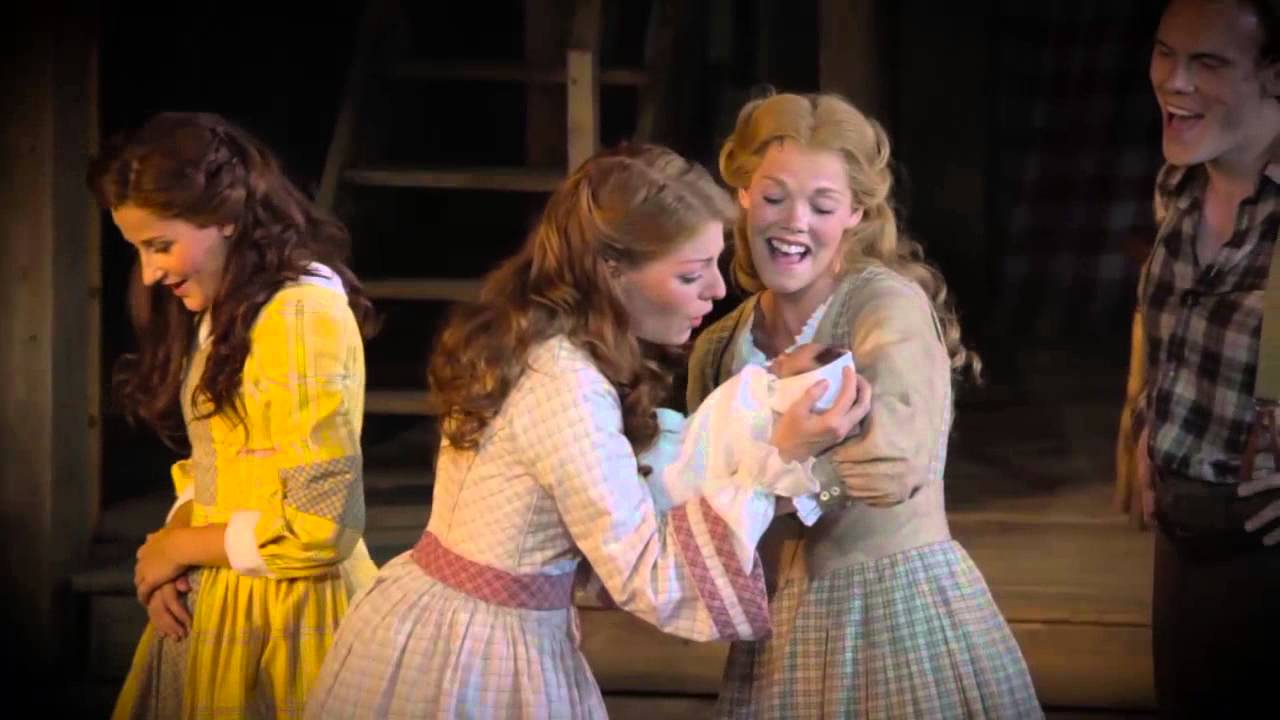 Trailer for the critically acclaimed Seven Brides for Seven Brothers 2015 London...