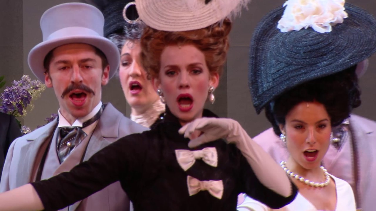 Julie Andrews discusses taking on the role of director for My Fair Lady at the Regent...