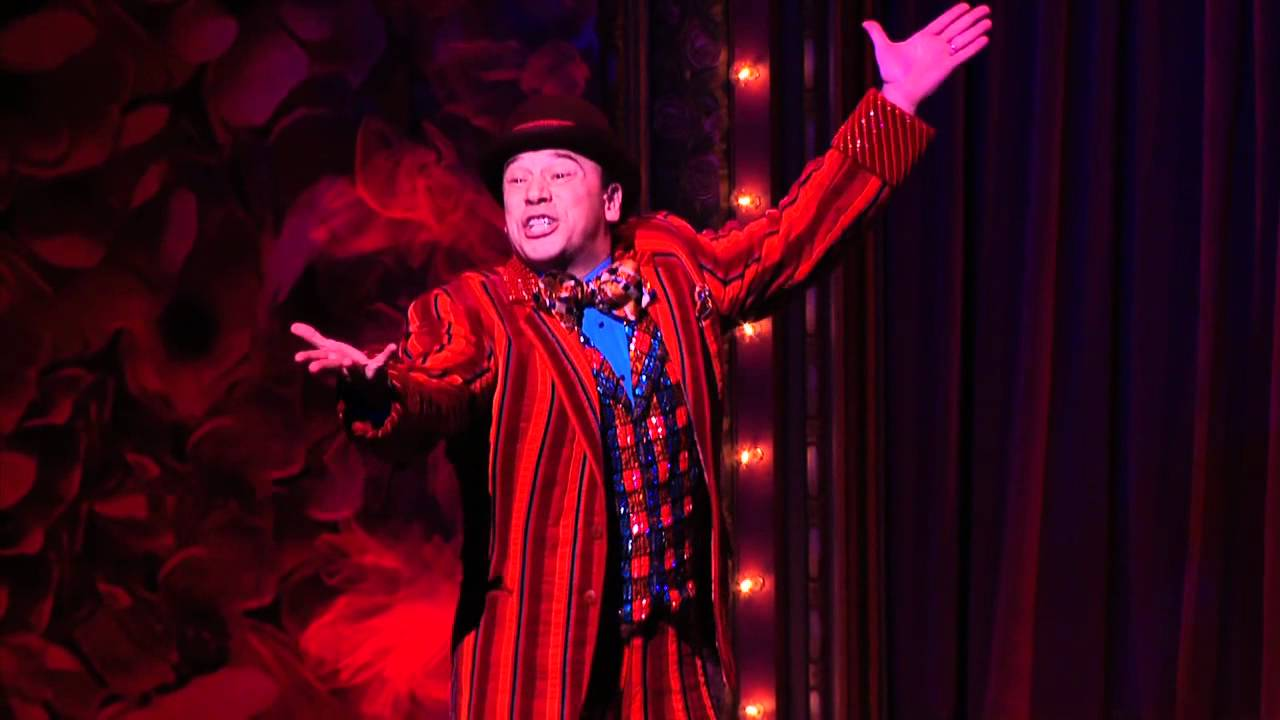 "Danny Burstein performs ""The God Why Don't You Love Me Blues"" in the 2011..."