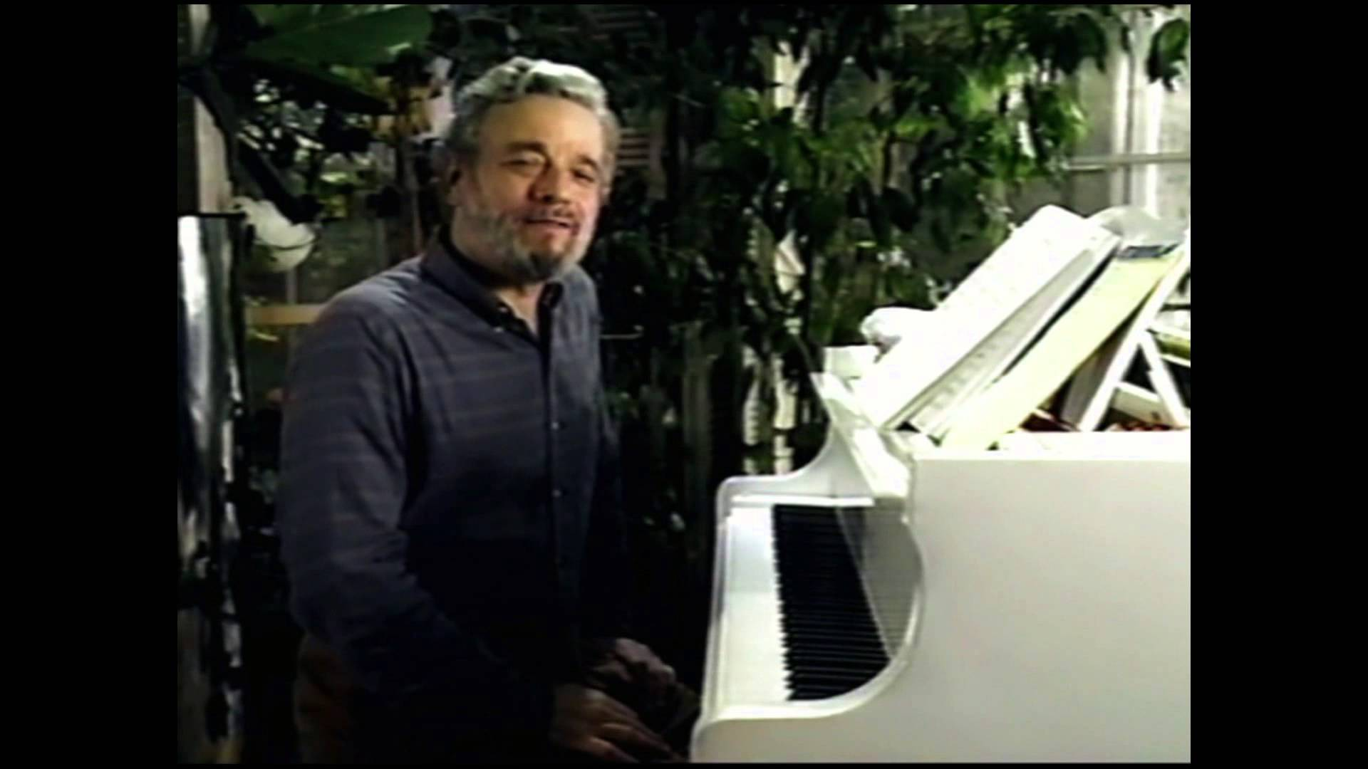 "Stephen Sondheim on ""No More"" and ""No One is Alone"""