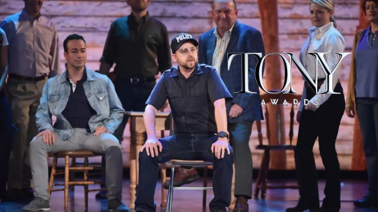 Come From Away performs at the 2017 Tony Awards