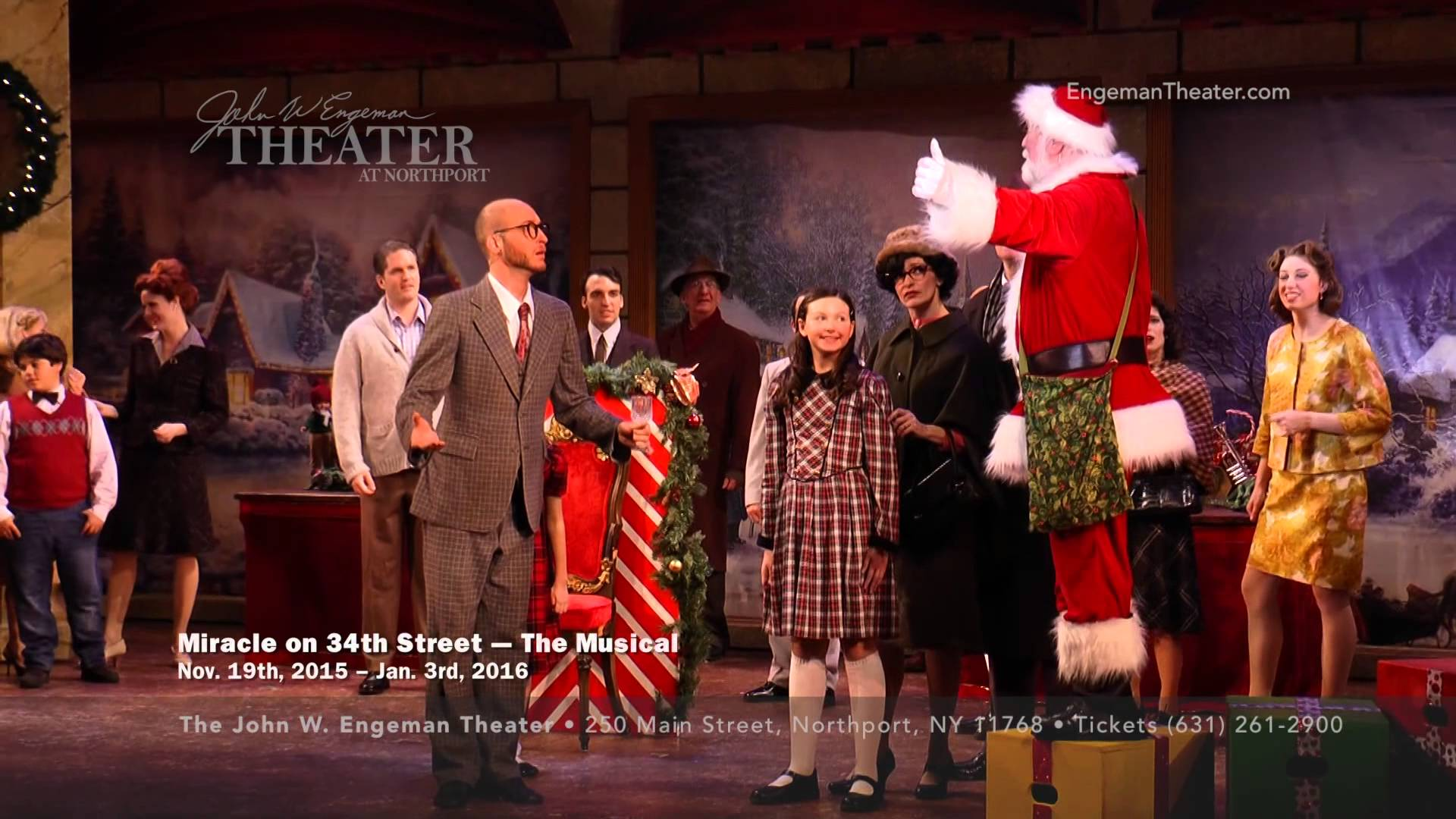 Miracle on 34th The Musical Playing at the John W. Engeman Theater in...
