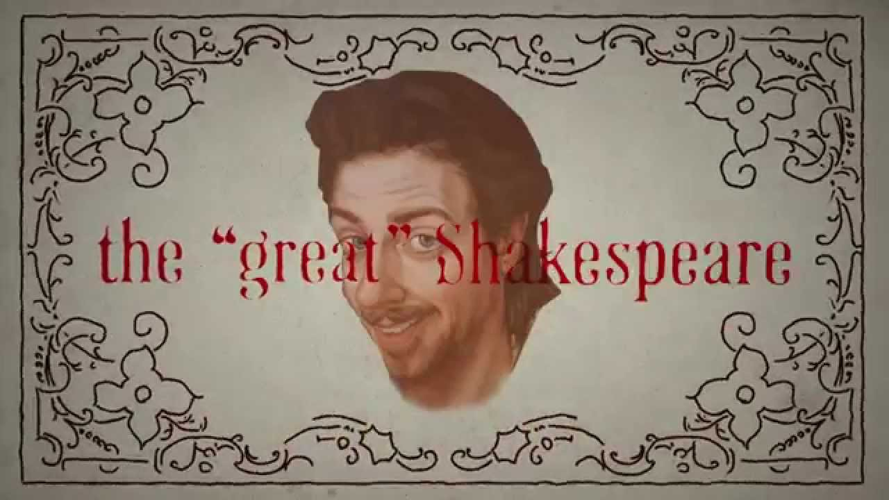 "Lyric video for ""God, I hate Shakespeare""!"