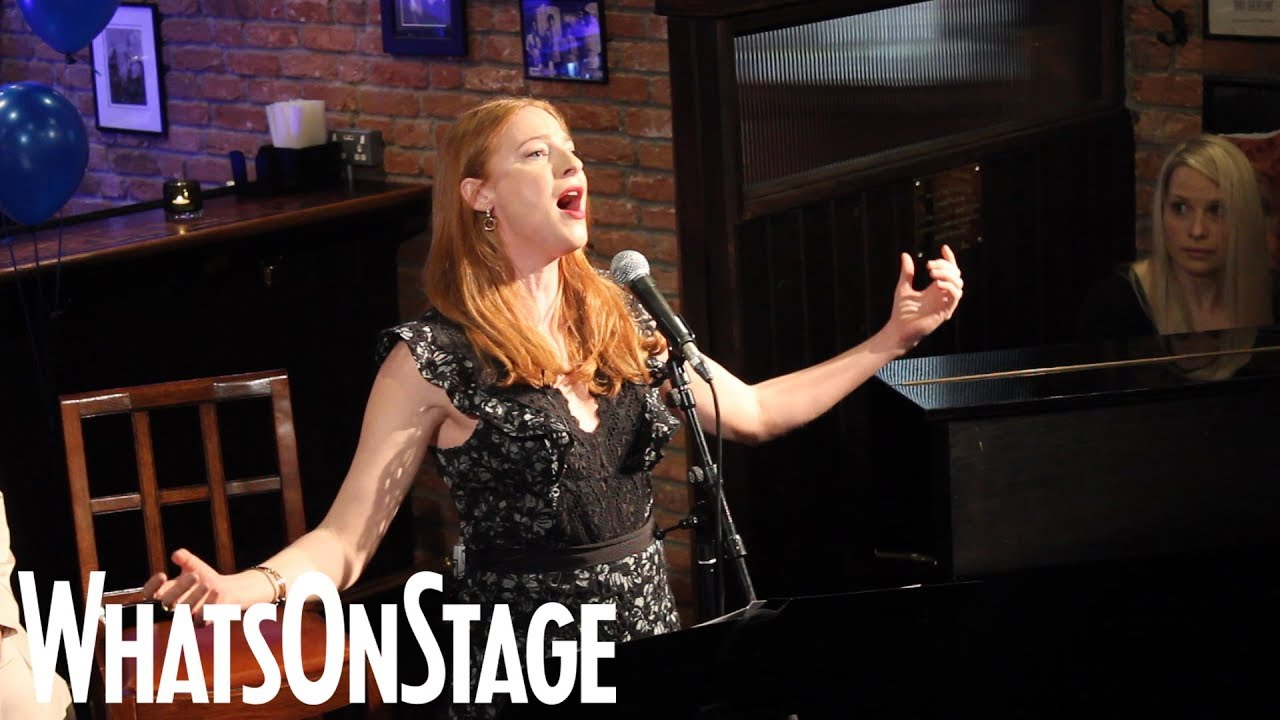 "Rosalie Craig from the West End revival of Company performs ""Being Alive"""
