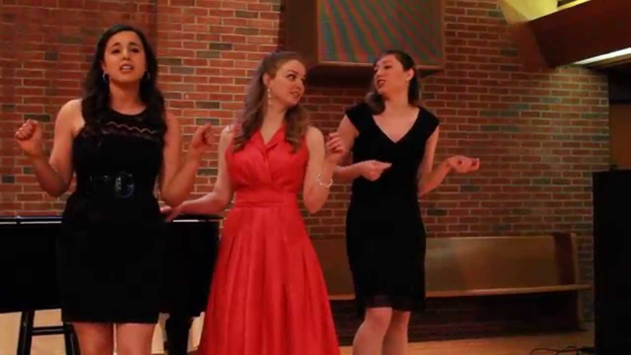 'Three Little Maids' from The Hot Mikado.Sung by Samantha Ferrara, Kailey Hewitt,...