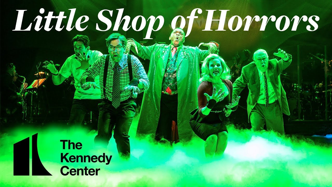 Highlights from Little Shop of Horrors at the Kennedy Center