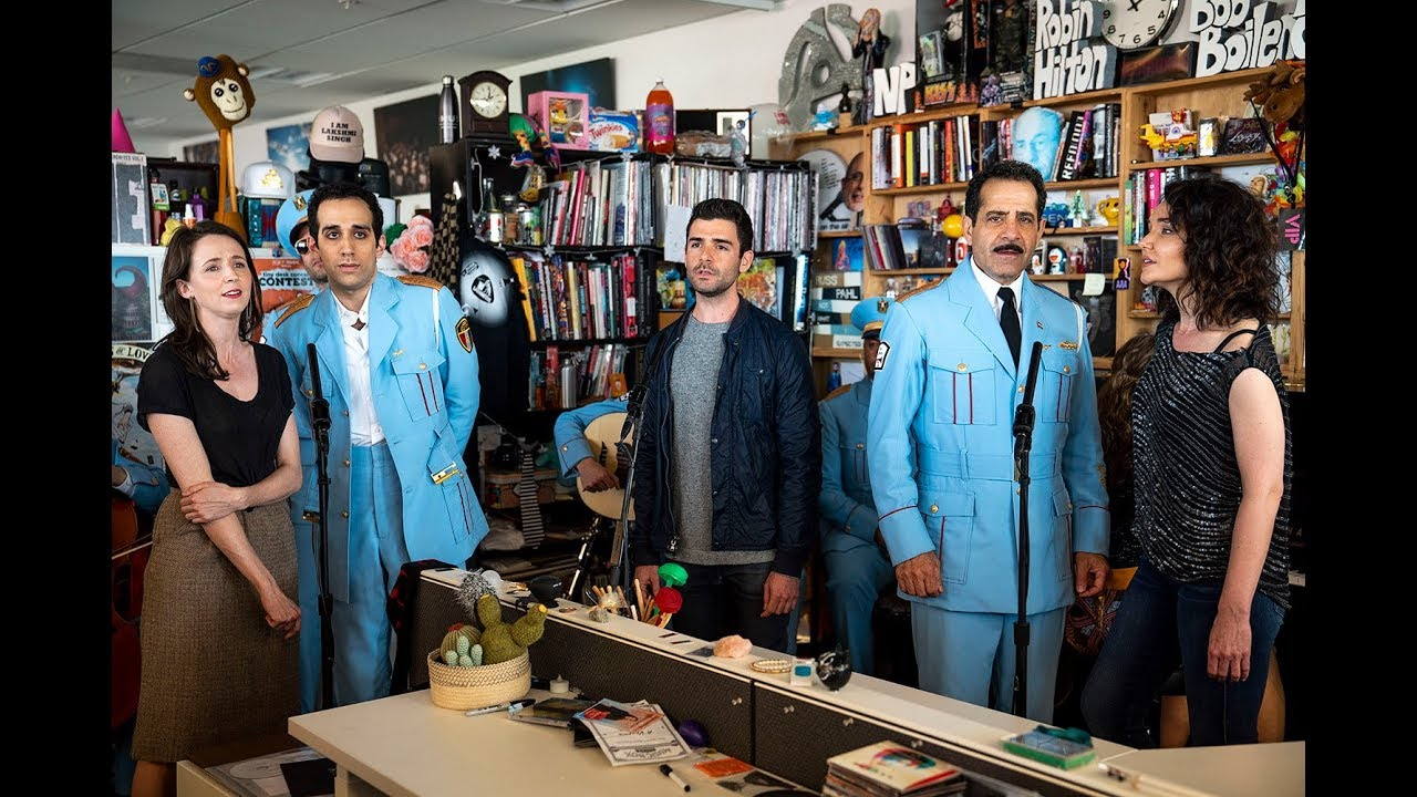 The Broadway cast of The Band's Visit performs an NPR Tiny Desk Concert
