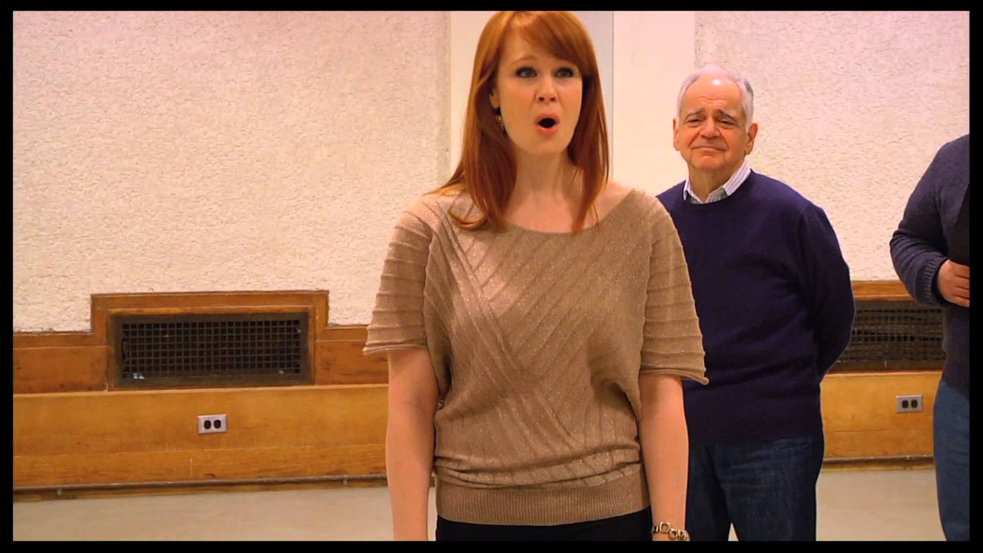 A look at rehearsals for Fiorello! at New York City Center's Encores!