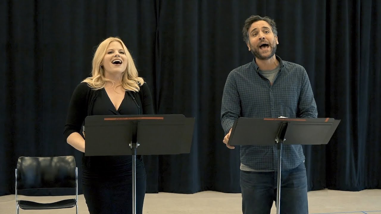 A peek at rehearsals for Little Shop of Horrors at the Kennedy Center