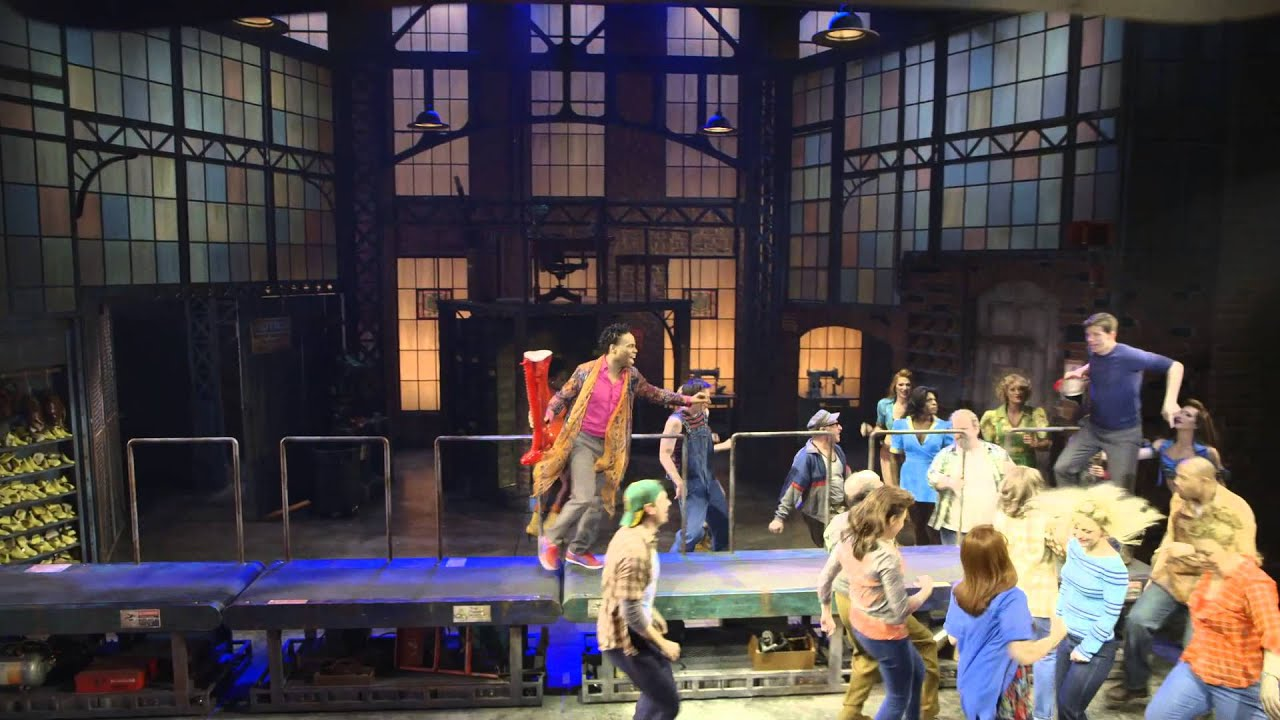 """Everybody Say Yeah"" from Kinky Boots on Broadway"