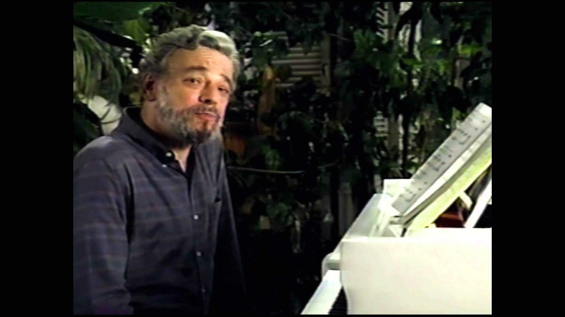 Composer Stephen Sondheim discusses the legendary role of the Witch in Into the Woods